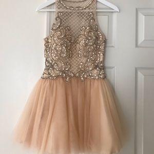 🔥LIGHT PINK HOMECOMING DRESS🔥 / pageant dress